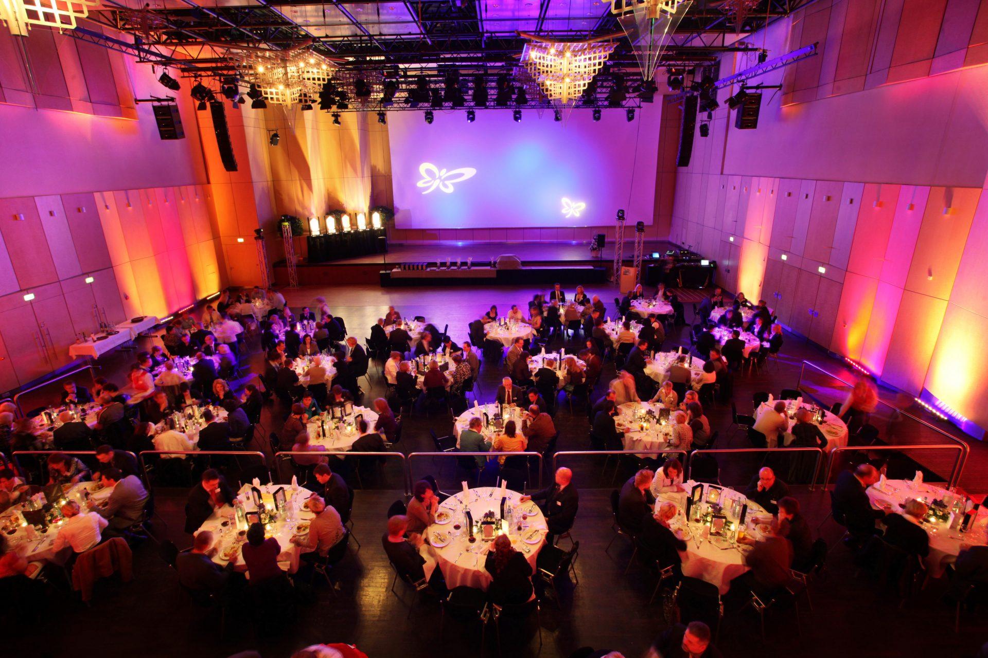 Hintergrundbild Galaveranstaltung